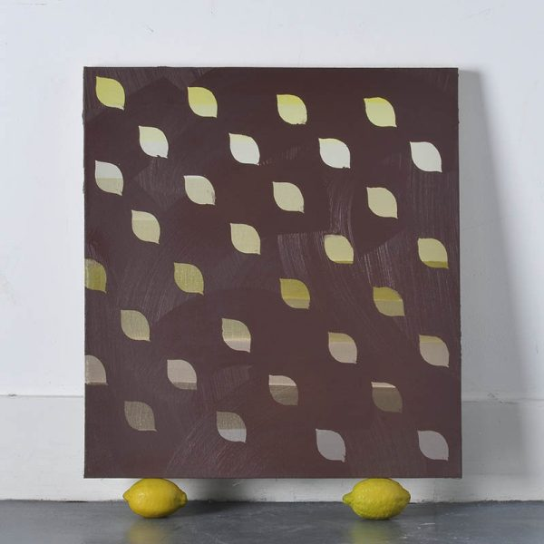 Somnel part 2, oil on linen with two lemons, dimensions variable, 2013